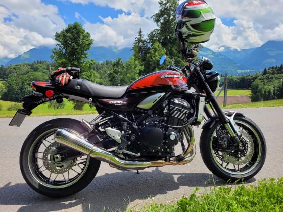 Dänu's Altherrenmotorrad Kawasaki Z900 RS
